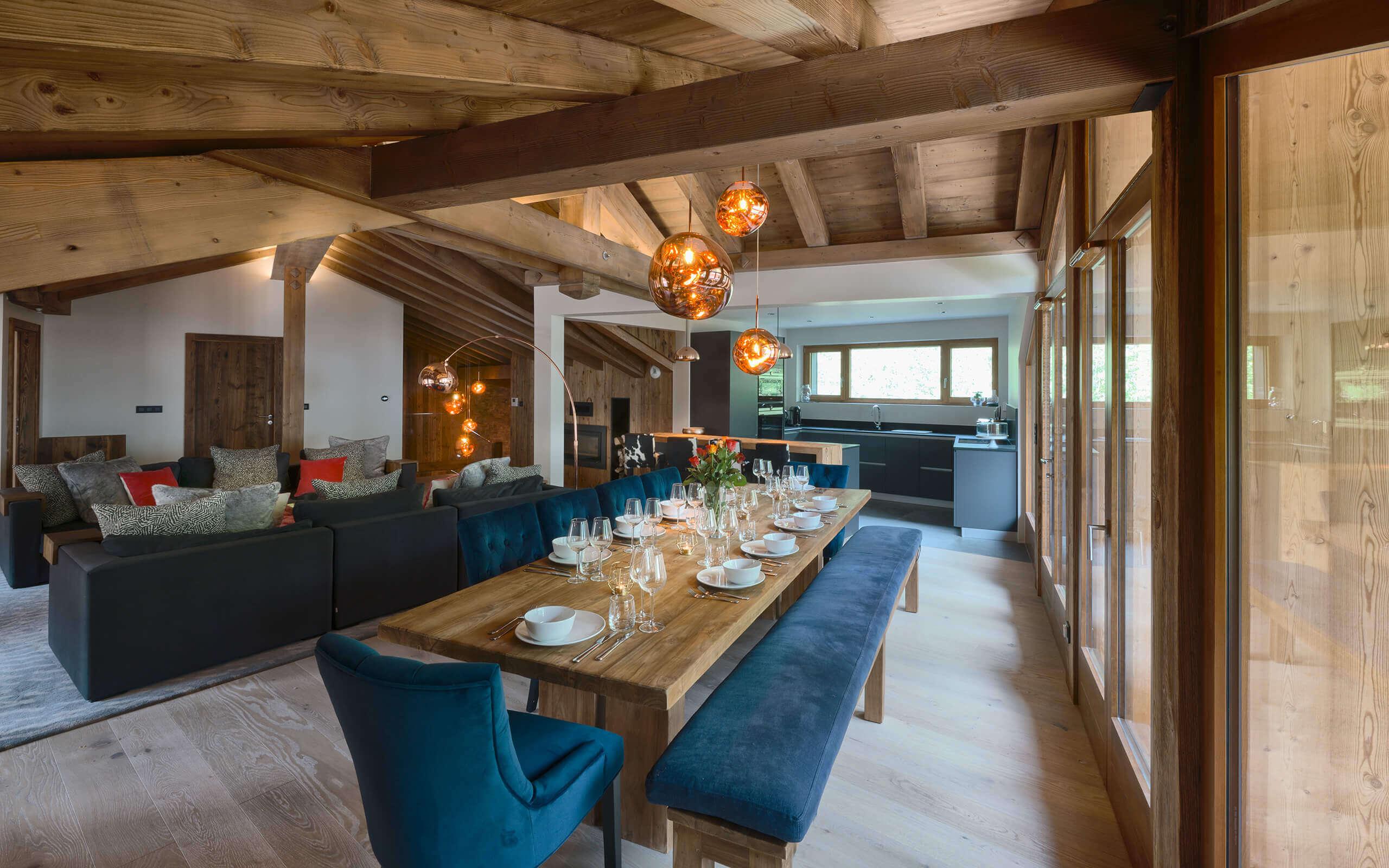 Chalet Genepi Dining Room