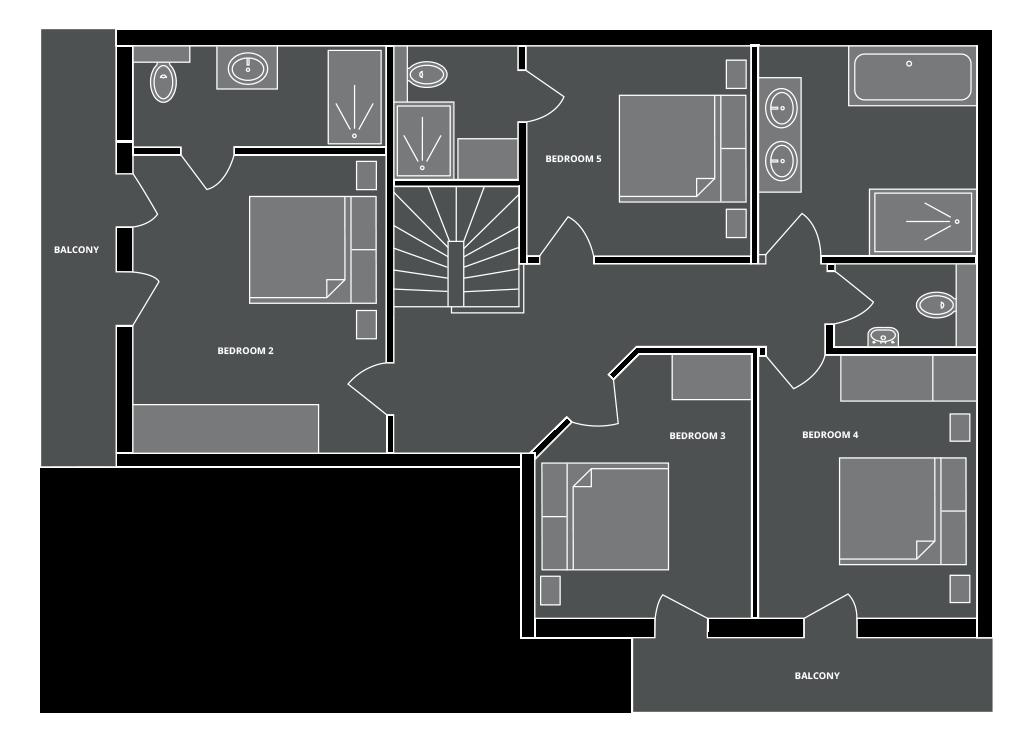 Chalet Aubois Floor Plan