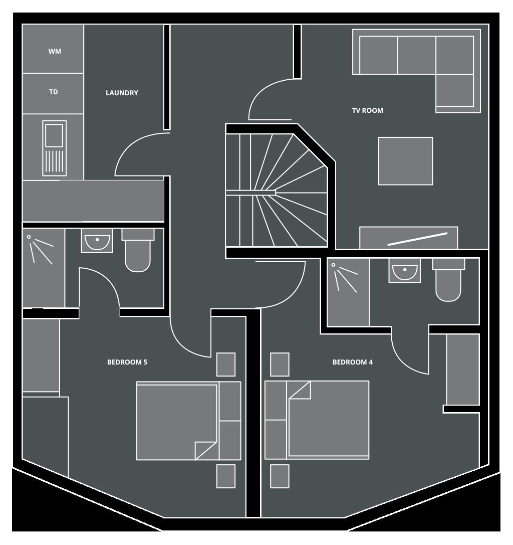 Chalet Lorne Floor Plan
