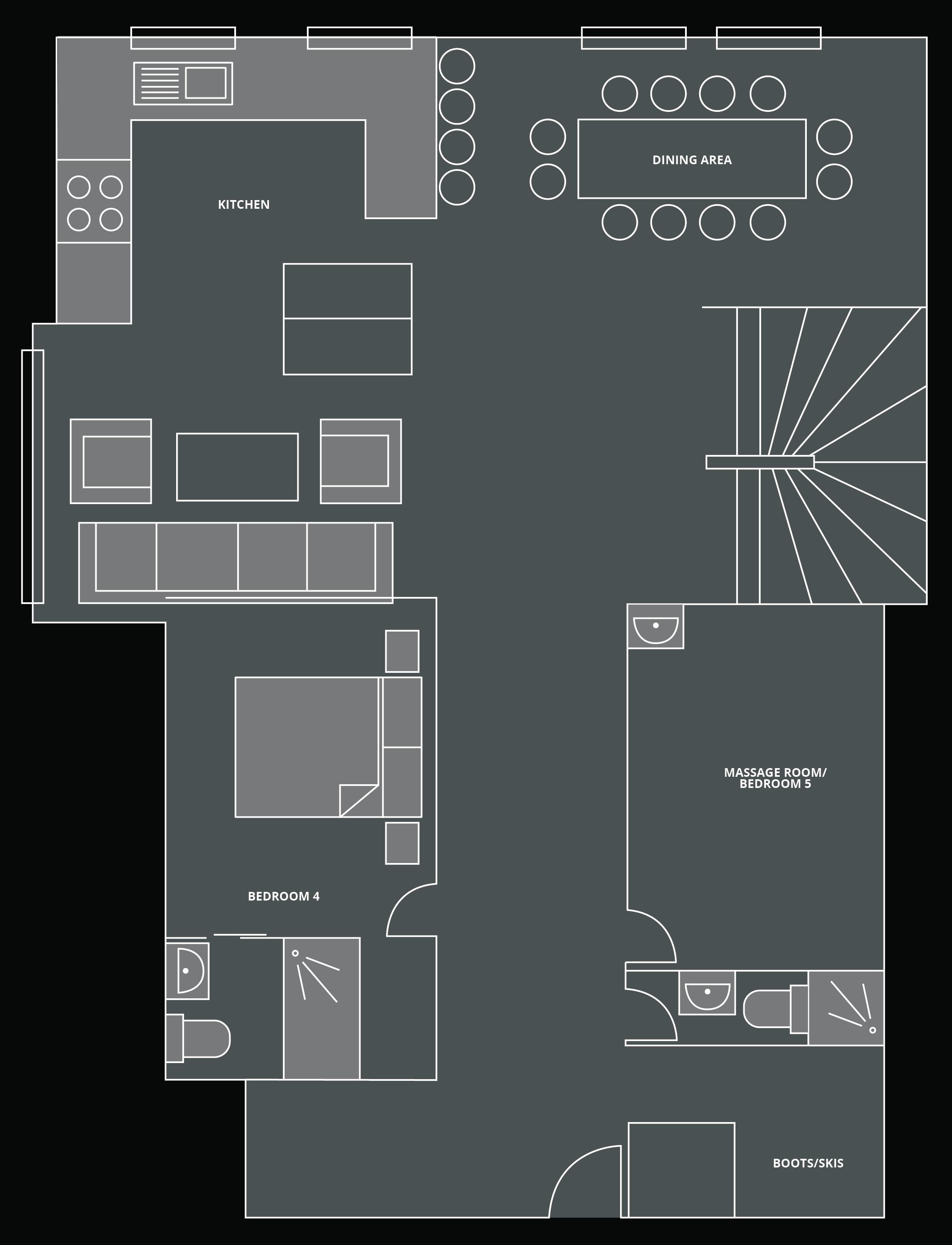 The Old Macaroni Floor Plan