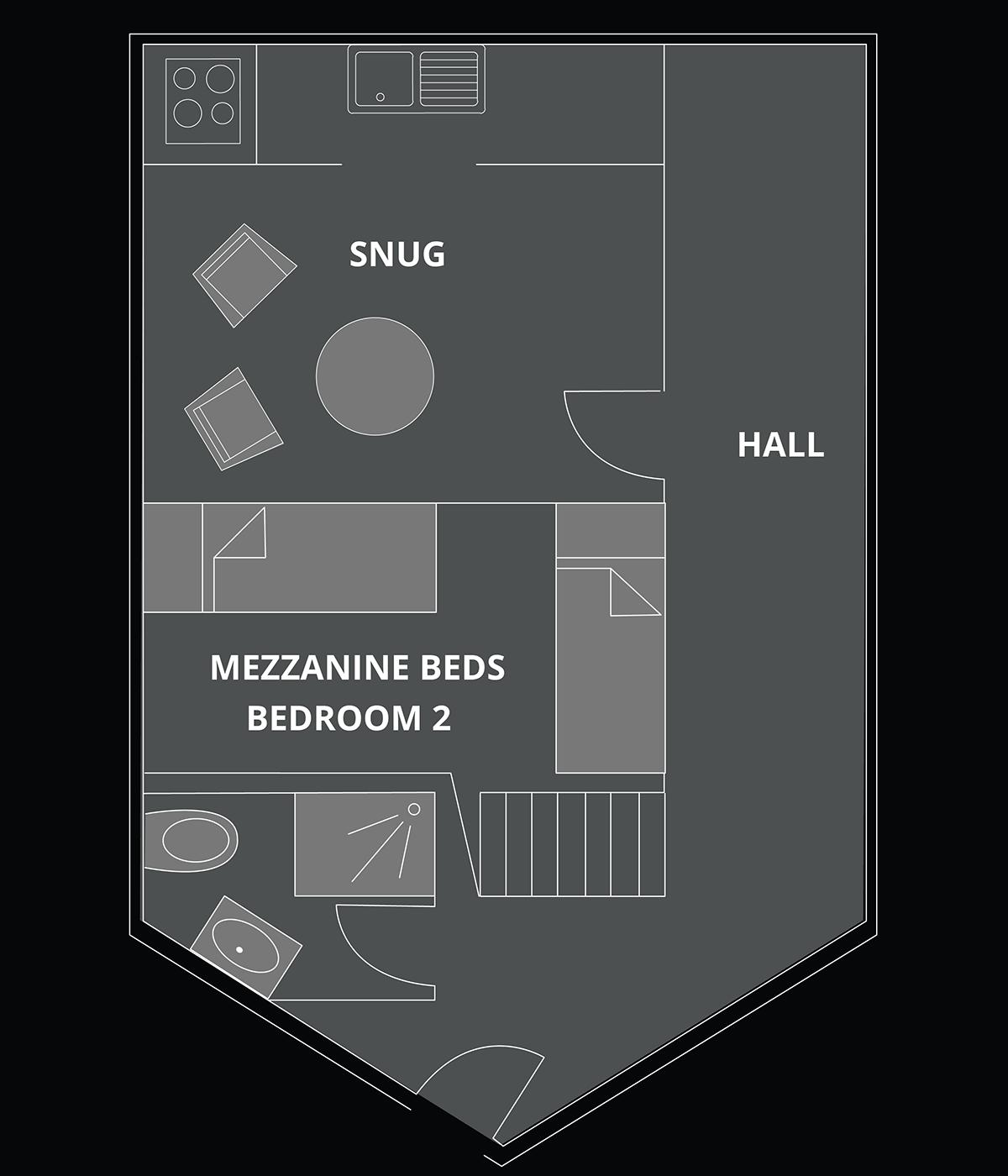 Petite Corniche Floor Plan