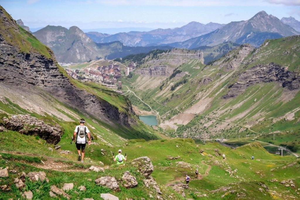 Hiking in Morzine in summer