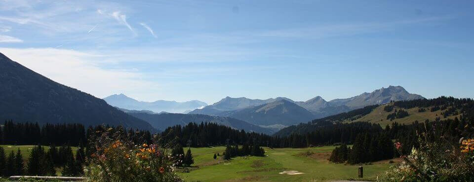 Morzine in summer golf