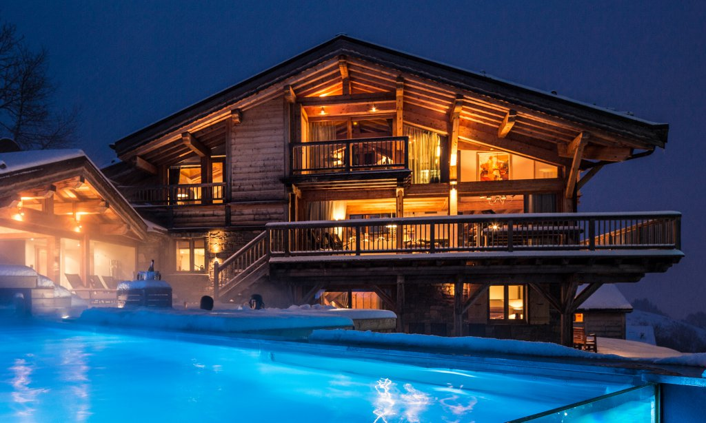 Catered summer chalets in Les Gets - Grande Corniche