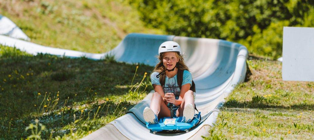Summer in Morzine luging