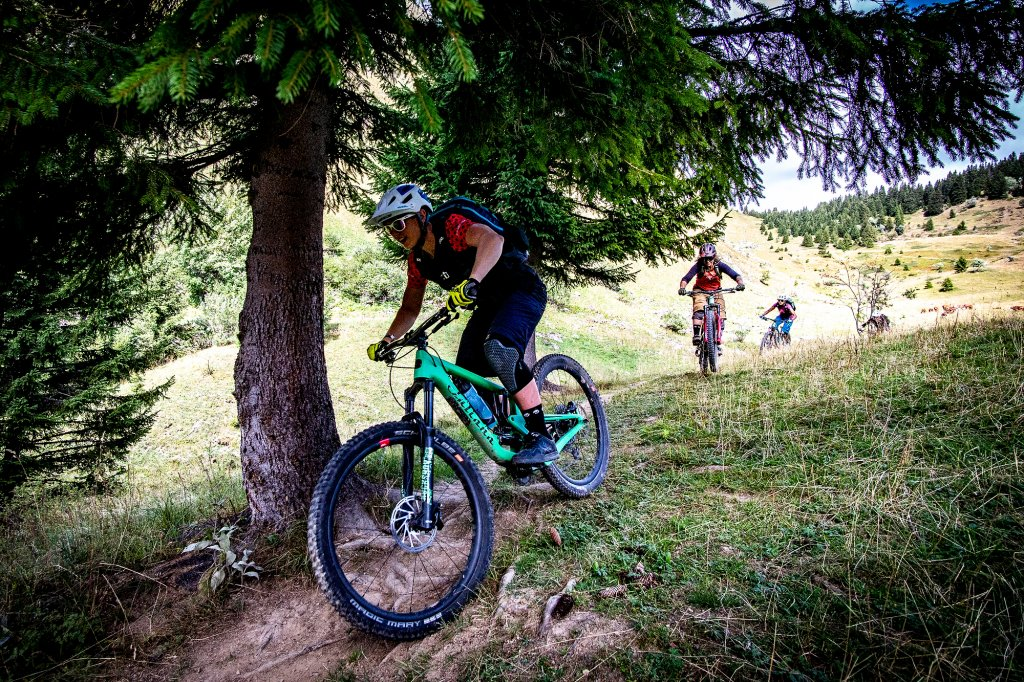 Summer in Morzine mountain biking