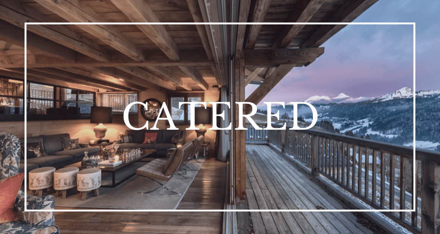 Luxury chalets in Les Gets - catered