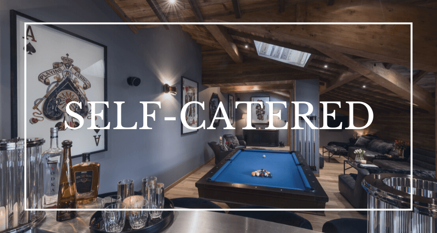 Luxury chalets in Les Gets - self-catered