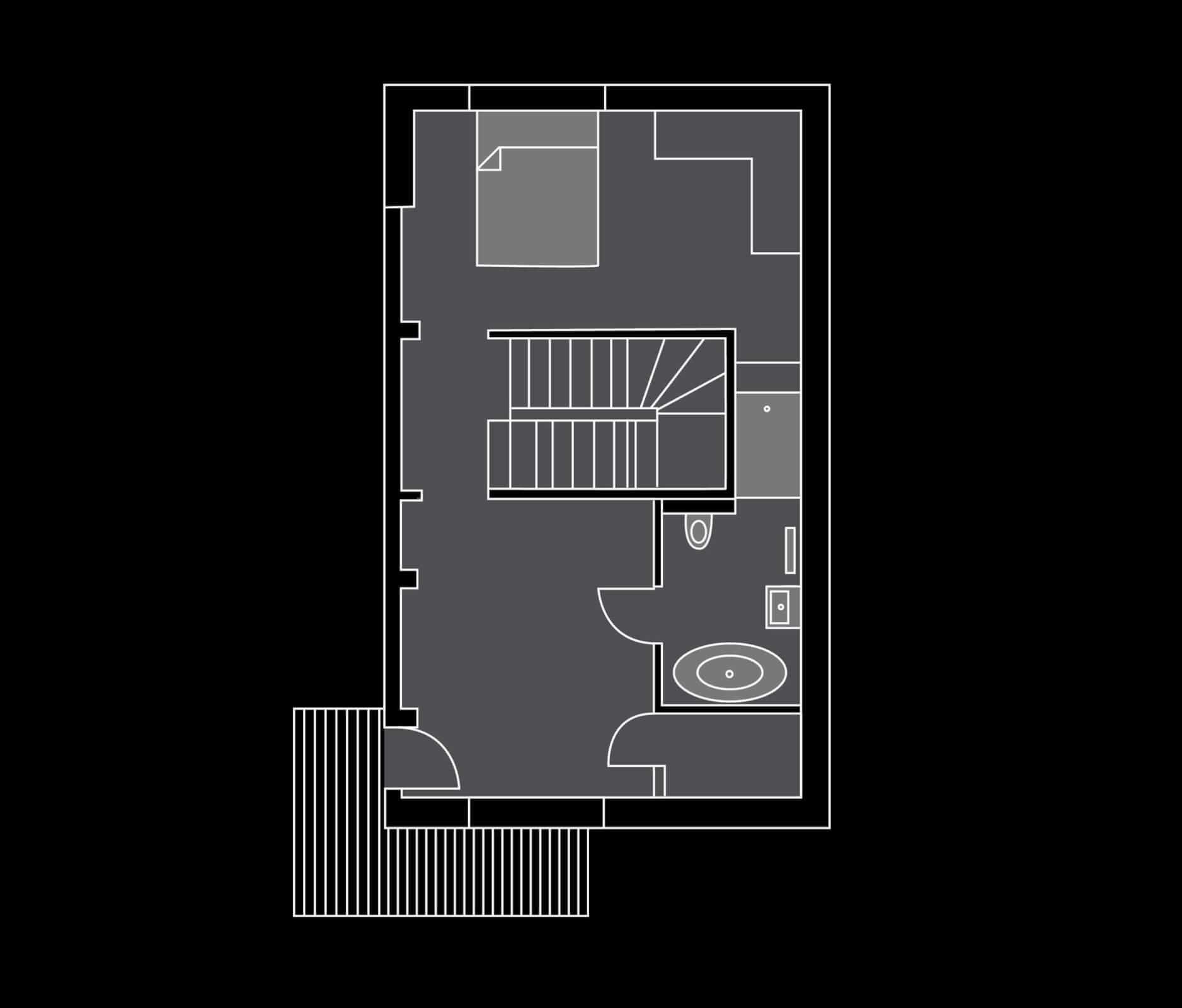 Chalet Griffonner Floor Plan