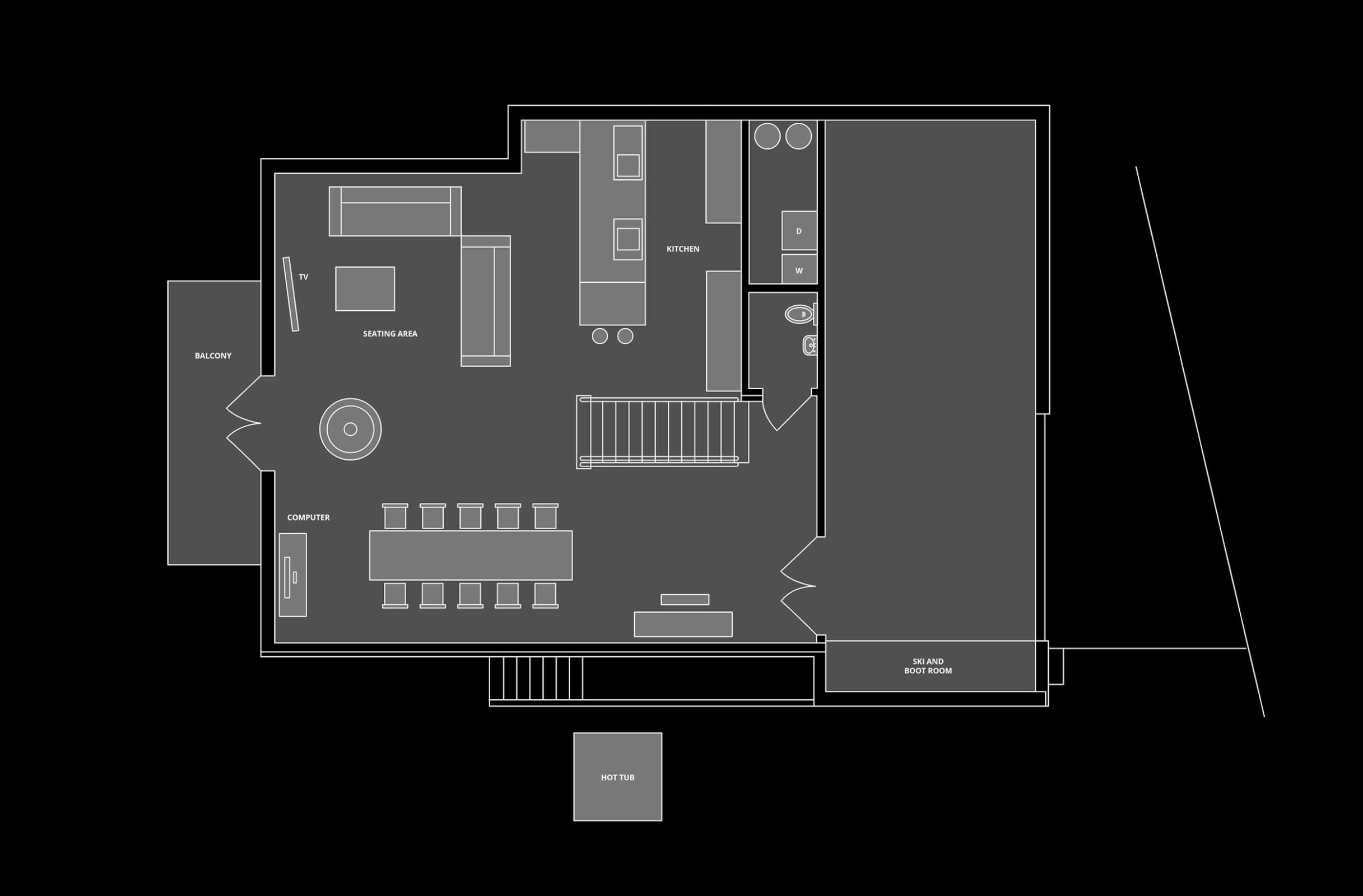 Chalet Bobb Floor Plan