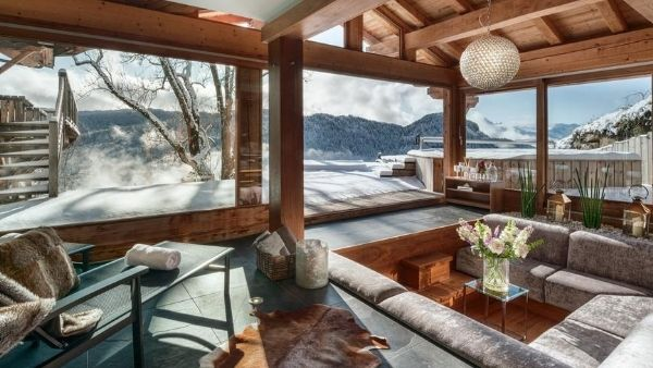 Luxury ski holiday