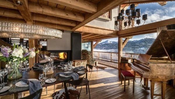 Luxury ski holiday Les Gets