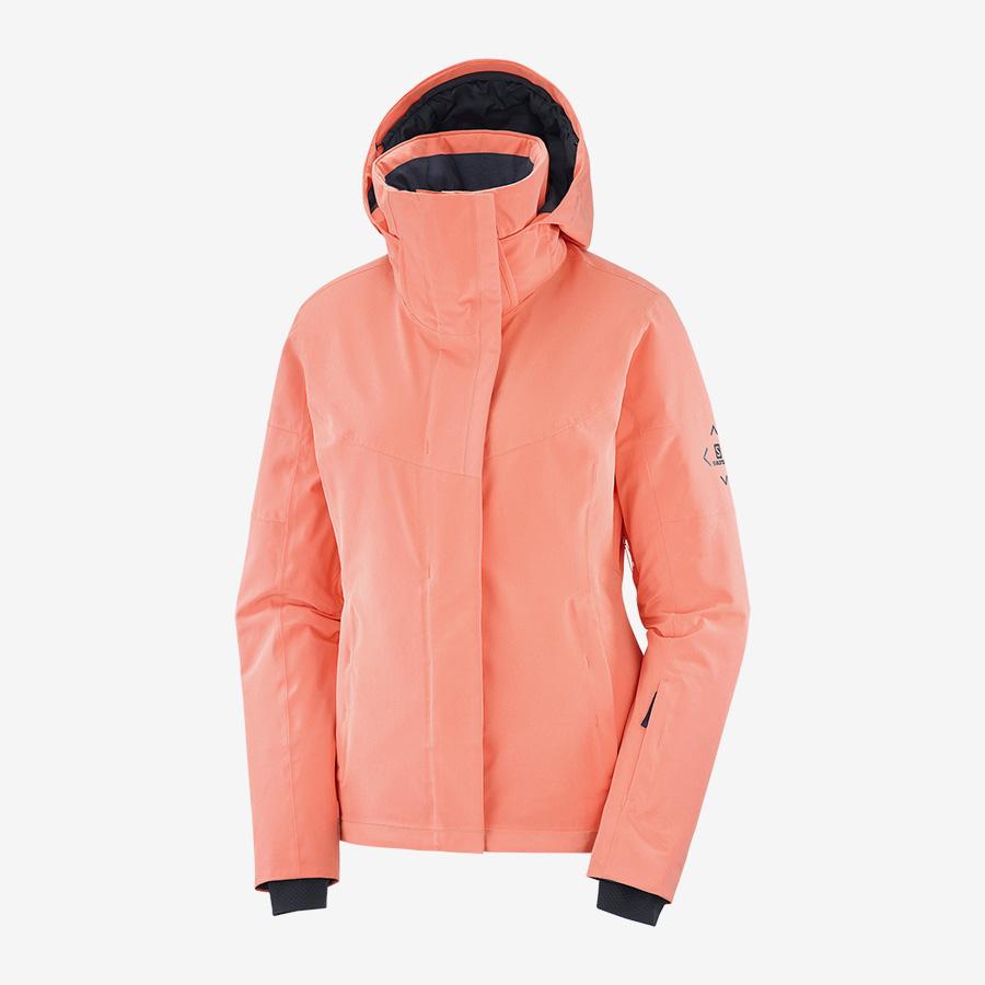 Best ski jackets for women - Salomon jacket