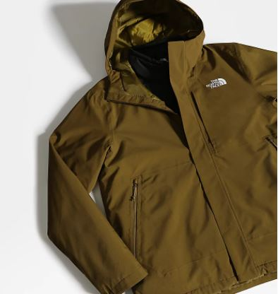 Best ski jackets for men North Face Carto