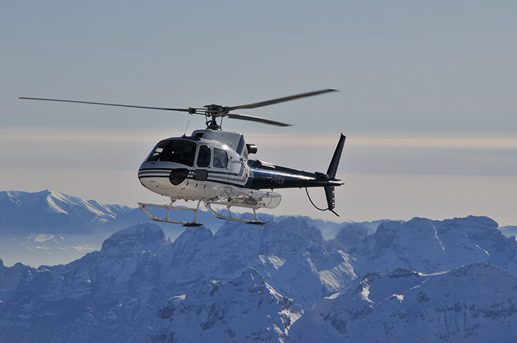 Getting t Morzine by helicopter transfers