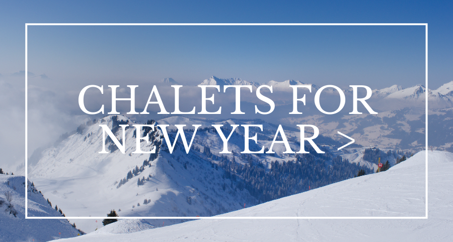 Ski chalets for New Year's Eve