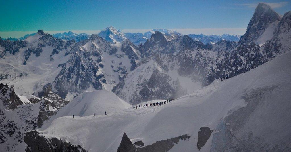 Ski in France at Mont Blanc