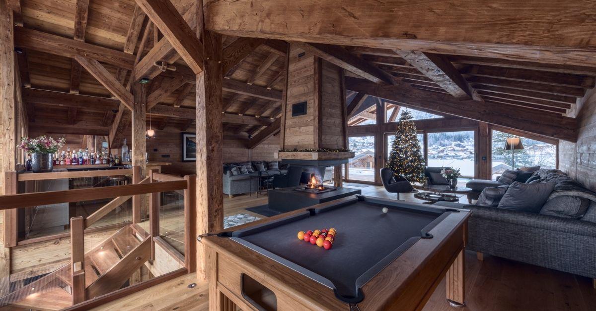 corporate perks - trip to Lodge Des Nants