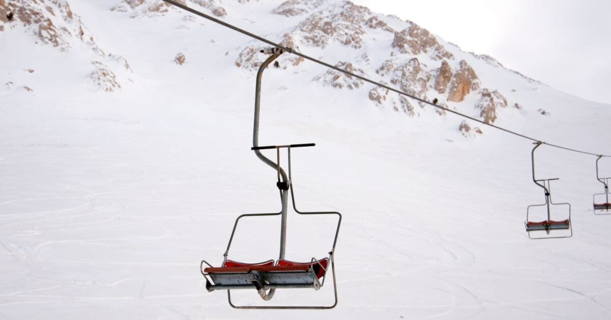 Chairlifts for skiing