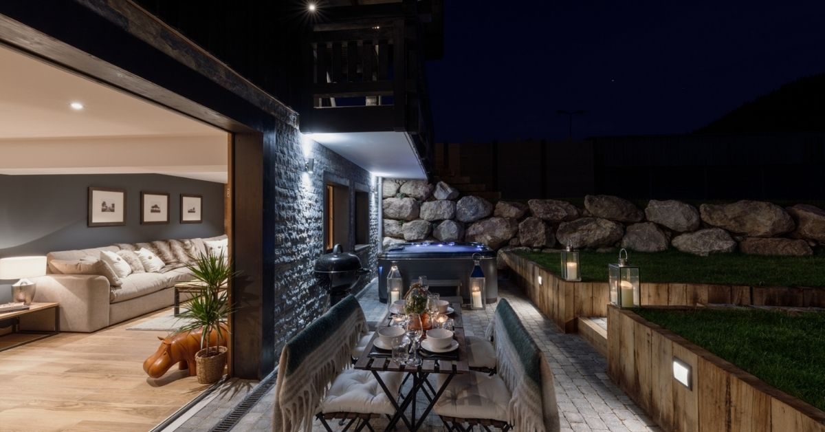 Holidays with hot tubs at The Bungo in Morzine