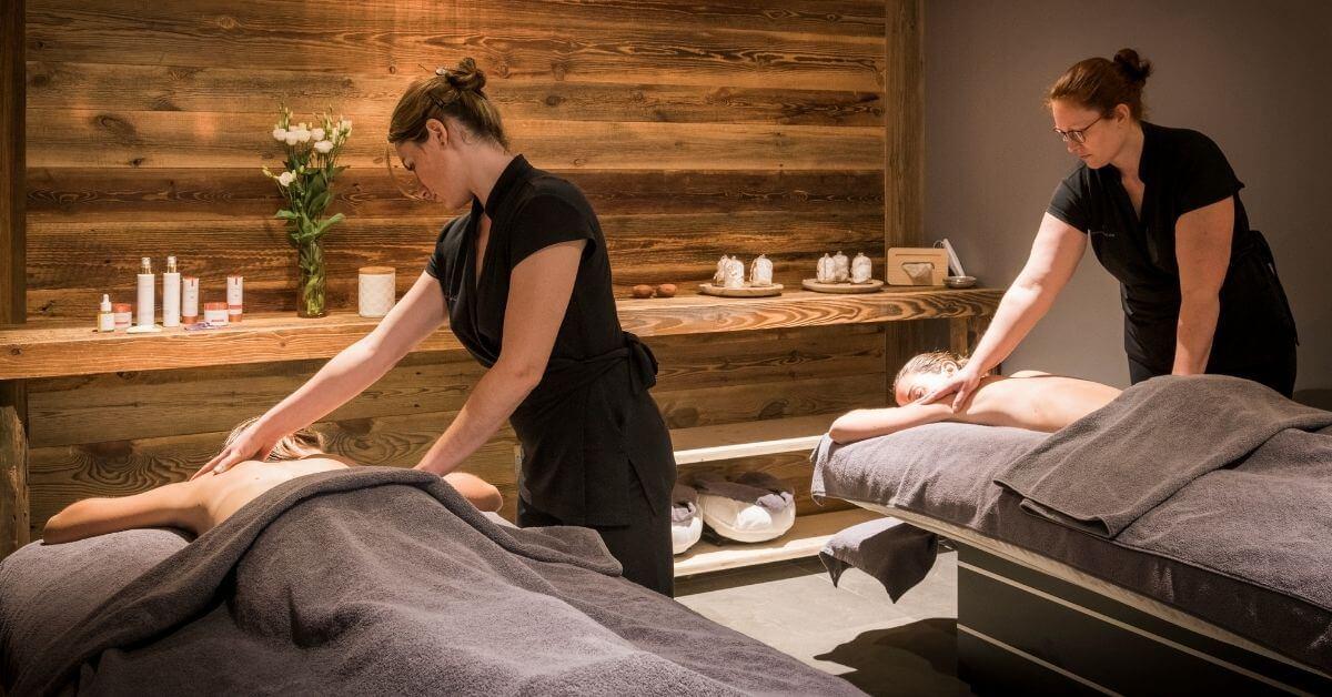 Massage at Les Sources Du Chery