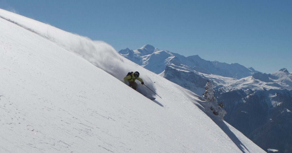 Ski in France - advanced skiing