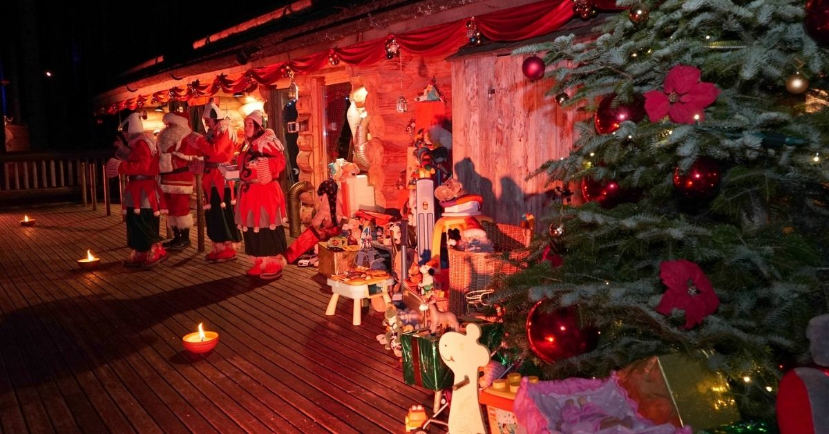 Christmas in Les Gets - Ski in France