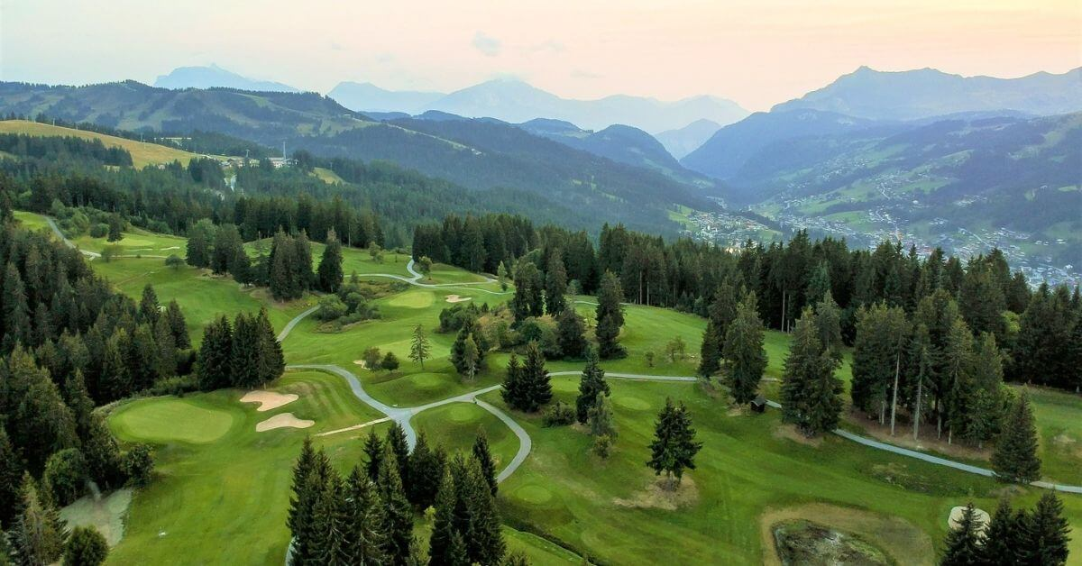 Golf - Les Gets in Summer