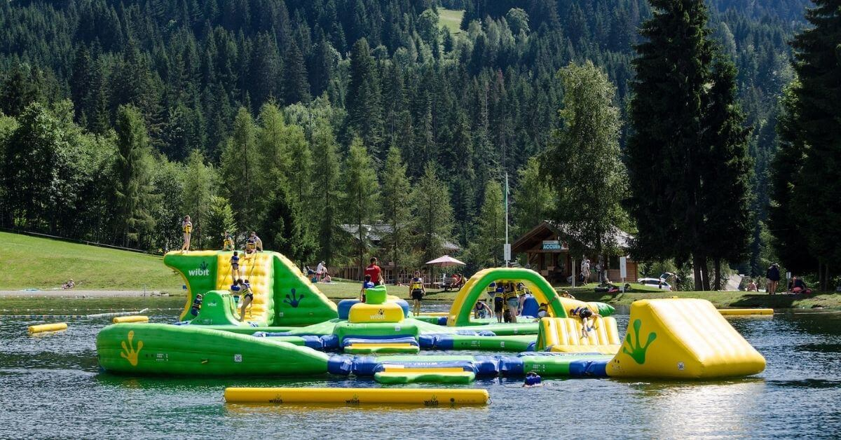 Witbit water park - Les Gets in Summer