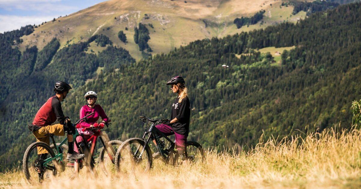 Mountain bike hire in Morzine